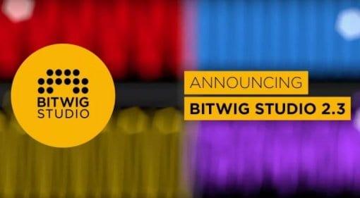 Bitwig Studio 2.3
