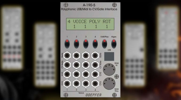 namm 2018  doepfer go polyphonic with 5 new modules
