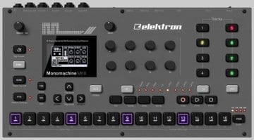 Elektron Digitone Mock-Up
