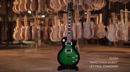 Epiphone Slash Les Paul signature in Anaconda Burst