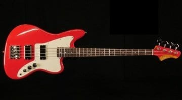 Fano JM4 Bass in Dakota Red