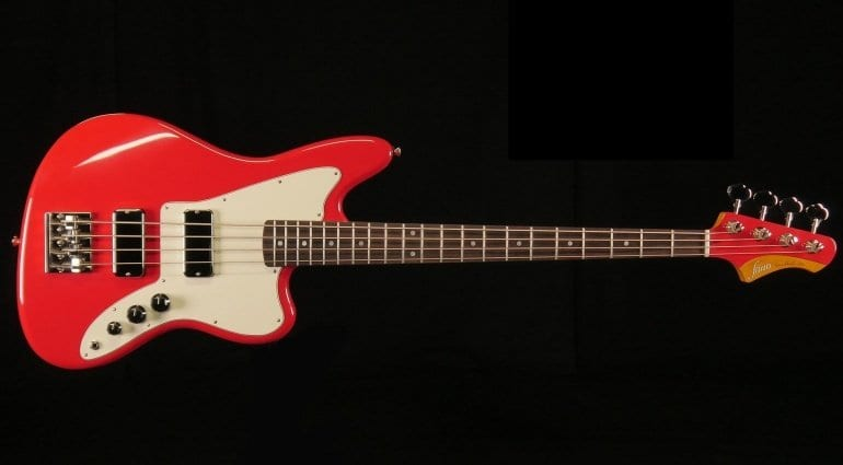 Fano JM4 Bass in Dakota Red