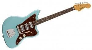 Fender 60th Anniversary Jazzmaster Daphne Blue Fornt 3 Toaster humbuckers