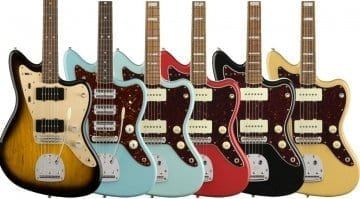 Fender 60th Anniversary Jazzmaster collection 2018