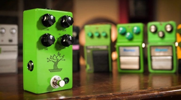 JHS Bonsai - 9 Tube Scremer overdrives in one pedal