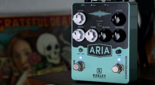 Keeley Aria Compressor and Drive pedal