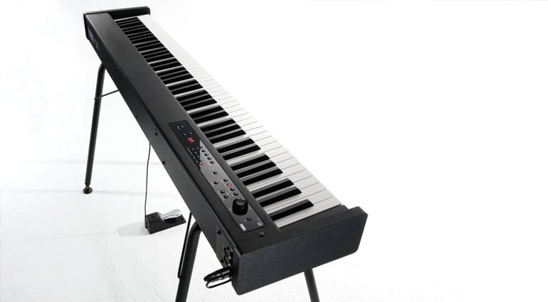 namm 2018 korg announce the slim d1 digital piano for stage and home. Black Bedroom Furniture Sets. Home Design Ideas