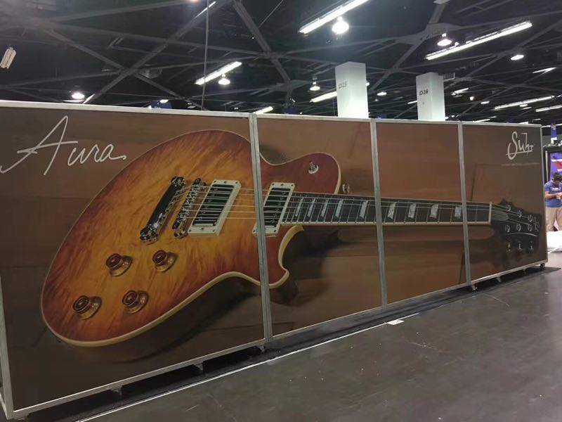 The Suhr stand NAMM 2018
