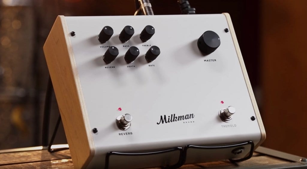 Milkman Sounds The Amp. 50-watt amp in a pedal