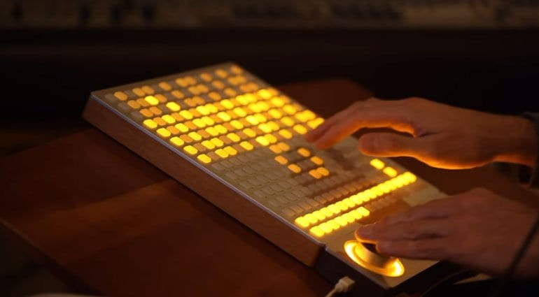 Gridlab Strum on Monome Arc and Grid