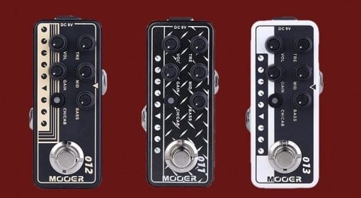 NAMM New Mooer Micro preamps