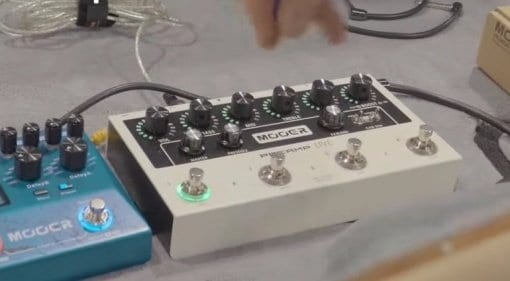 Mooer Preamp Live