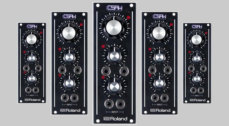 Roland module mockup