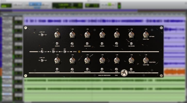 OAQ equalizer plug-in