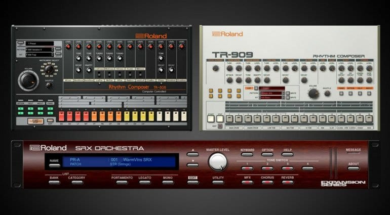 NAMM 2018: Roland Cloud gets virtual TR-808 and TR-909 - gearnews com
