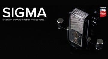 Sontronics Sigma ribbon microphone