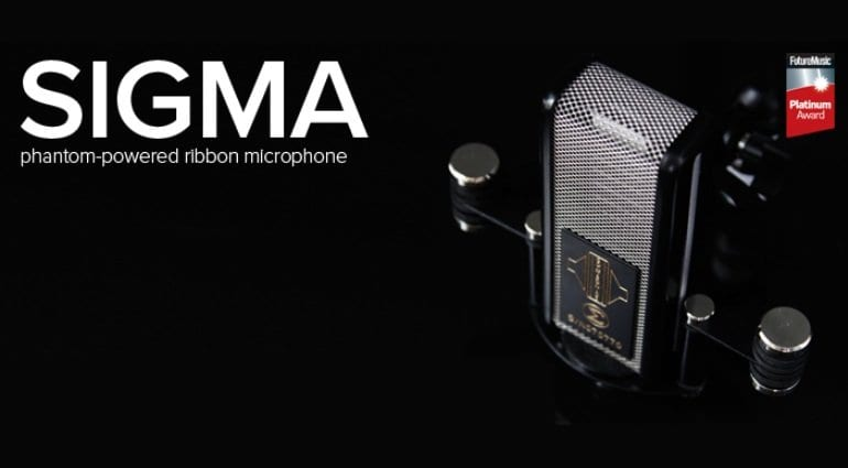 Sontronics Sigma ribbon microphone