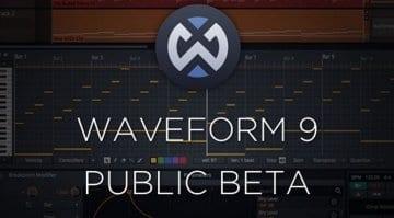 Tracktion Waveform 9 Public Beta