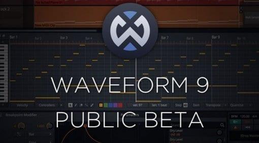 Tracktion Waveform 9 Public Beta