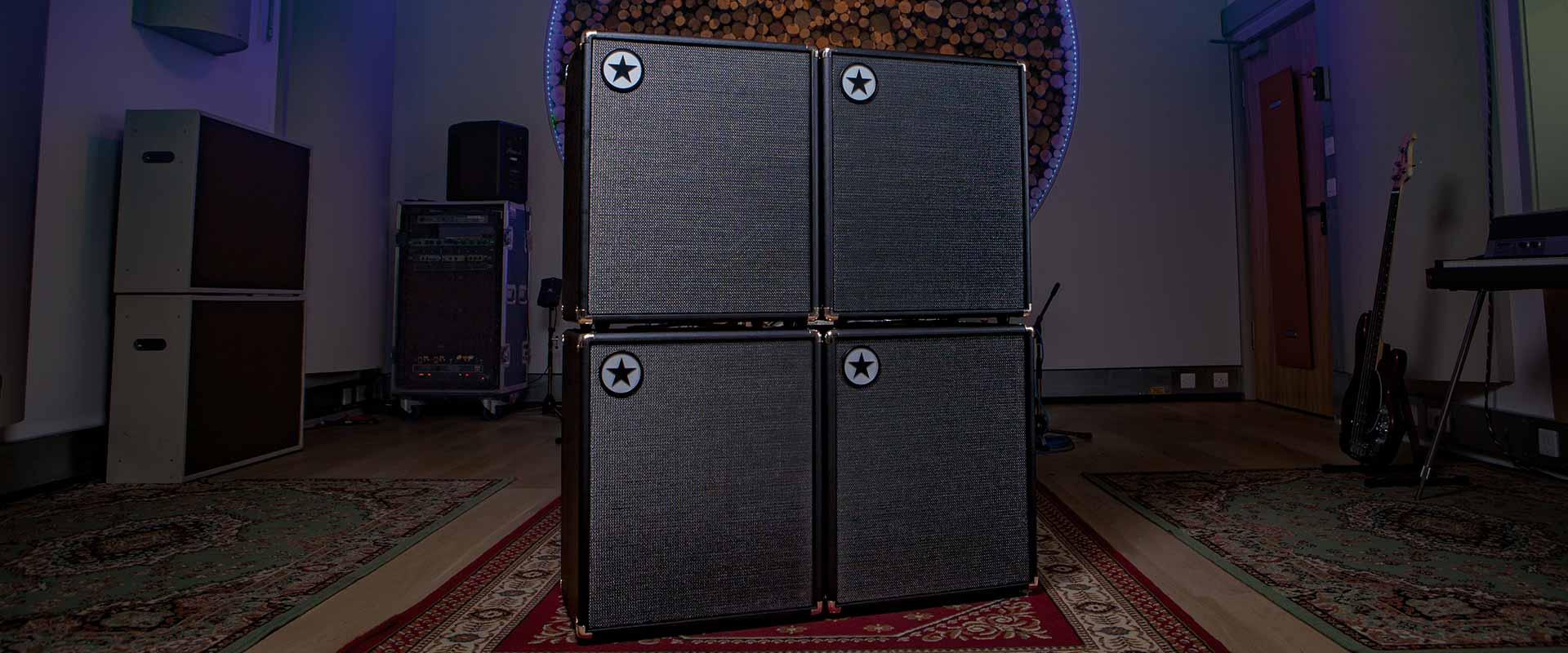 Blackstar Unity Bass Amp stack