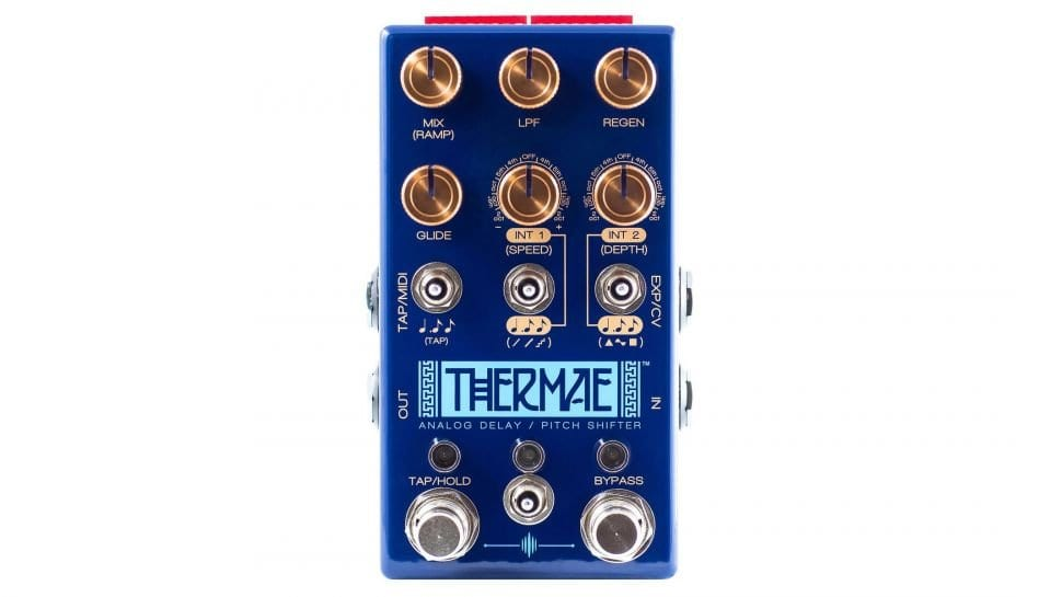 Chase Bliss Audio Thermae front panel