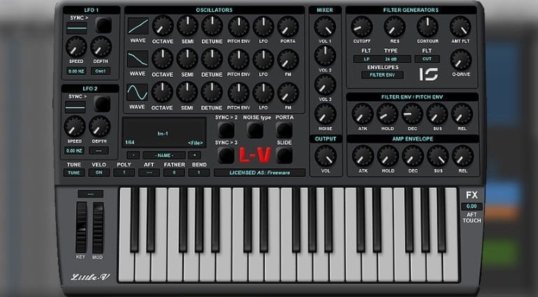 Little-V synthesizer