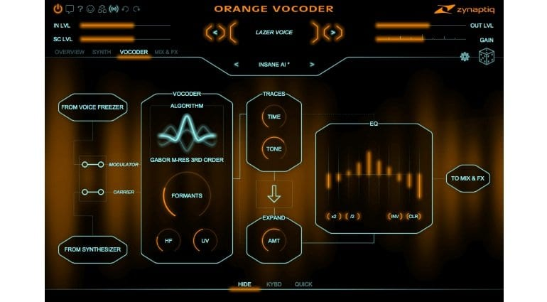 Zynaptiq to release Orange Vocoder 4 with new algorithms and