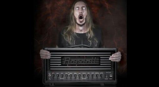 Randall Satan 50 watt Ola Englund signature amp head