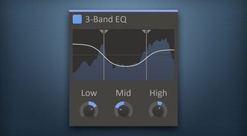 Kilohearts 3-band EQ