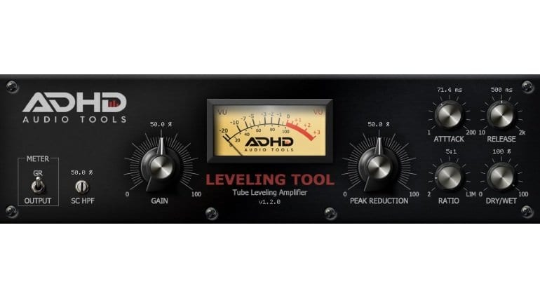 AdHd Tube Leveling Amplifier