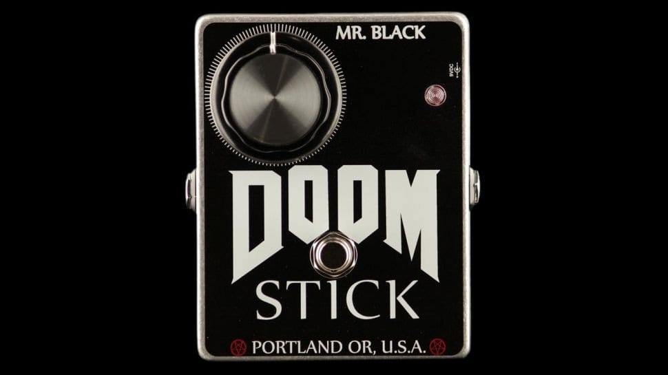 Mr Black Doomstick fuzz pedal USA, boutique