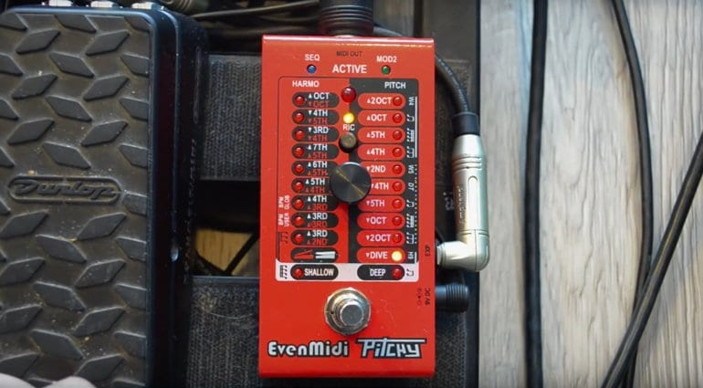 EvenMidi Pitchy Whammy Digitech Eventide H9