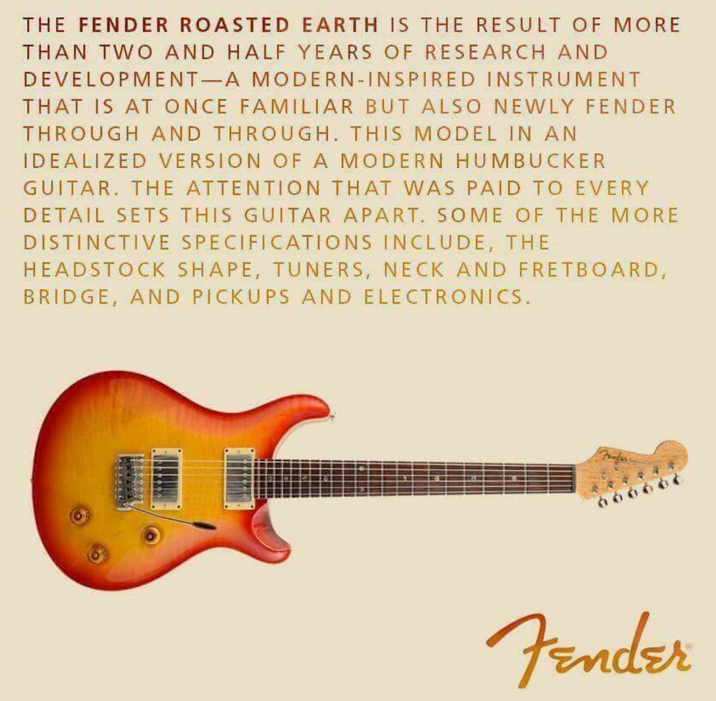 Fender Roasted Earth