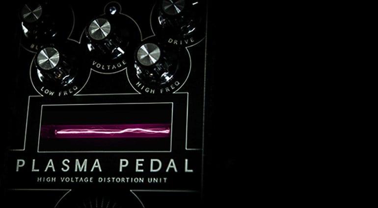 Gamechanger Audio Plasma Pedal limited edition Indiegogo Pink
