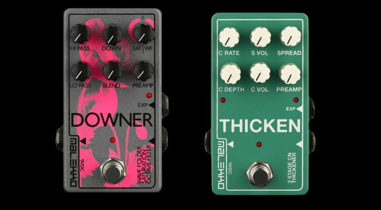 Malekko Downer and Thicken effects pedals