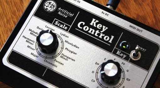 Artificial Noise Key Control