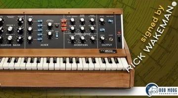 Bob Moog Foundation Minimoog raffle