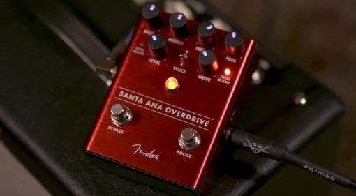 Fender Santa Ana Overdrive effects pedal