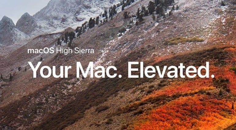 macOS 10.14 update