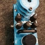 AMT F Clean Preamp Overdrive tube mini medal