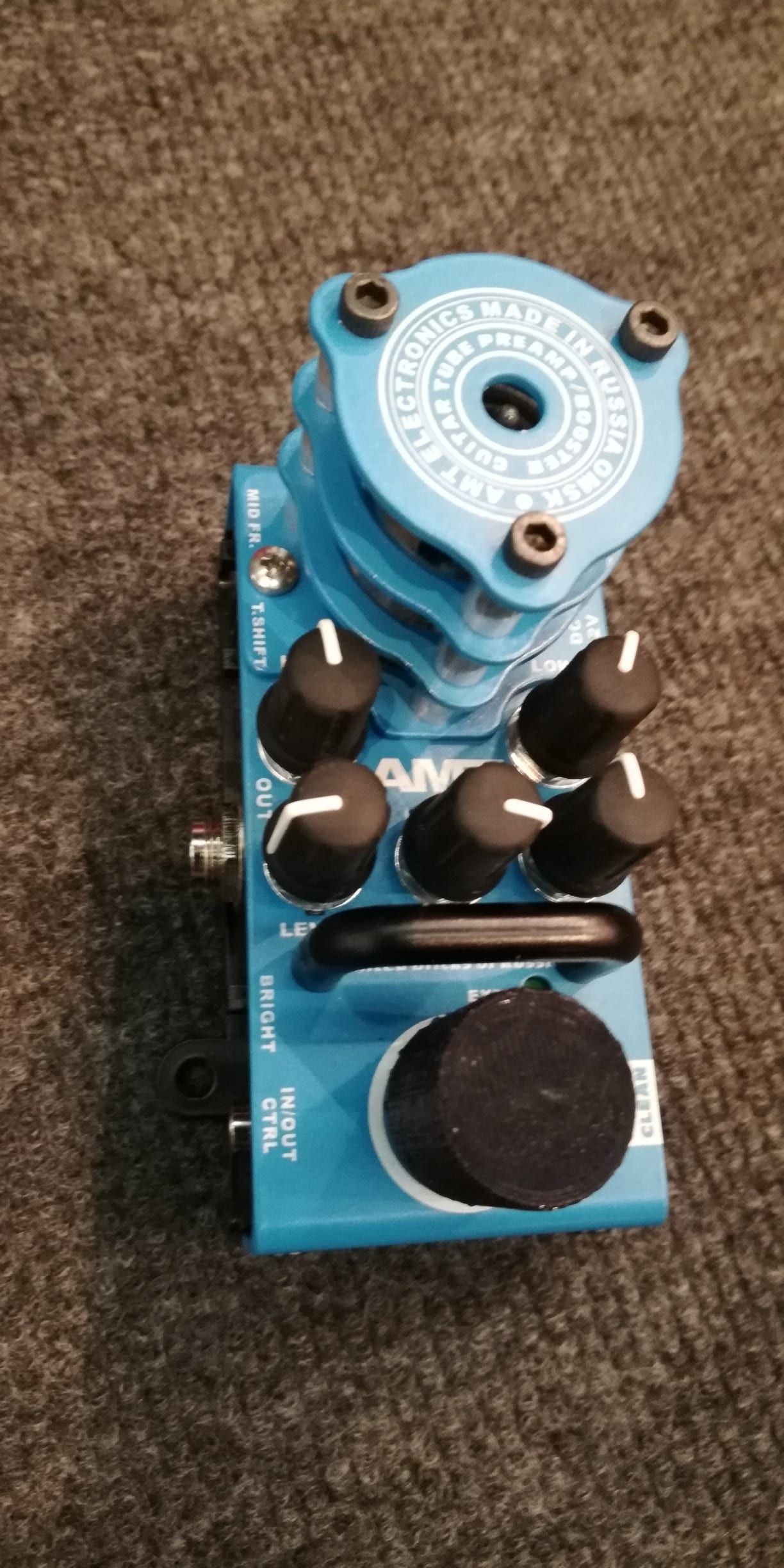Musikmesse 2018: AMT intros 5 mini-format tube preamp and