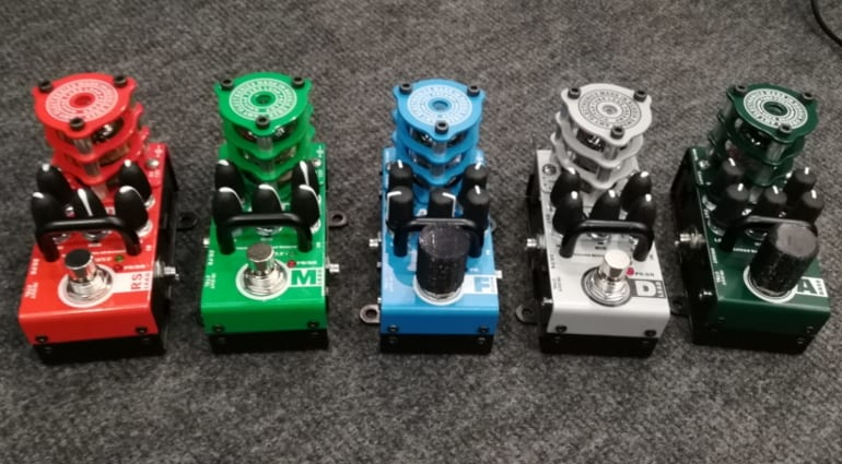 AMT's new mini-format tube preamp/OD pedals