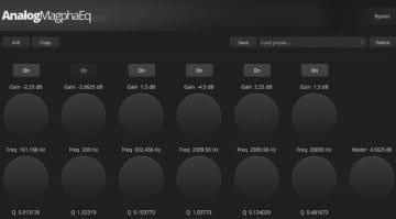 Balance Mastering Analog Magpha EQ plugin