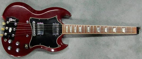 That Headless Gibson SG is real!