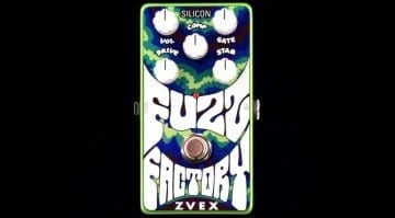 Zvex Vertical Fuzz Factory Silicon