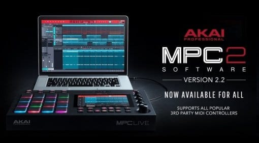 AKAI MPC 2 software