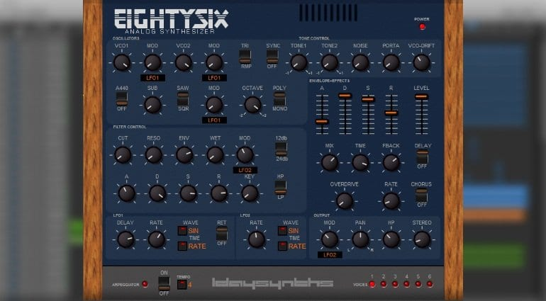Eightysix is here to bring you the sound of the KORG PolySix for