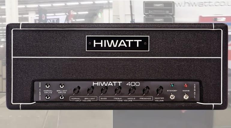 Hiwatt DR401 400 W bass head