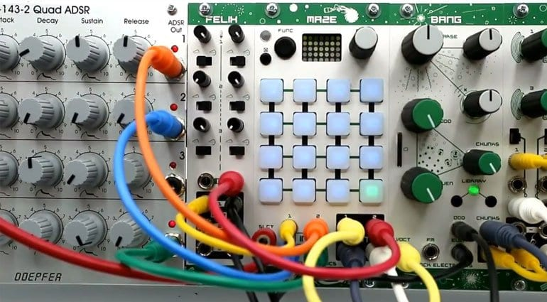 Livestock MAZE routing and mixing matrix module now