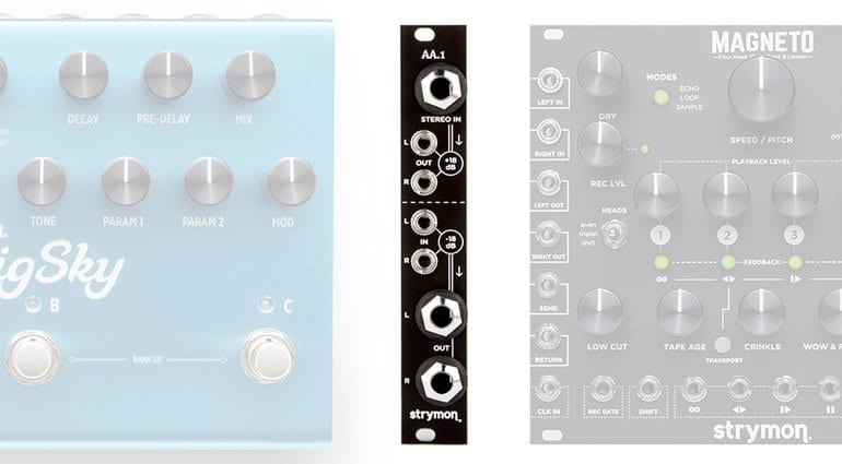 strymon aa 1 amplifier attenuator guitar pedal effects loop for eurorack. Black Bedroom Furniture Sets. Home Design Ideas